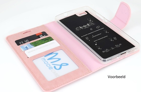 Hoesje Met Licht : Hoesje voor microsoft lumia boek hoesje book case licht roze