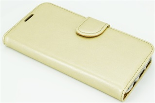 Hoesje voor One Plus 3  - Book Case - goud