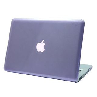 MacBook Pro Retina 15.4 inch - Laptoptas - Clear Hardcover - Paars
