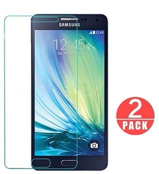 Screenprotector Glas Folie Tempered Glass voor Samsung Galaxy A5 2015 A500 2 stuks