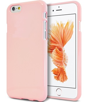 TPU Back Case voor Apple iPhone 6 Plus /6S Plus - Back cover - TPU - Gelly - Licht Roze