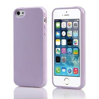 TPU Back Case voor Apple iPhone 6 /6S - Back cover - TPU - Gelly - Lila