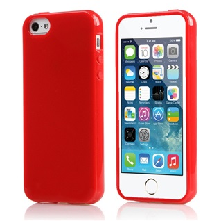 TPU Back Case voor Apple iPhone 6 Plus /6S Plus - Back cover - TPU - Gelly - Rood