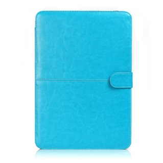 Voor MacBook Pro zonder retina 15 inch - Laptoptas - Laptophoes - Turquoise