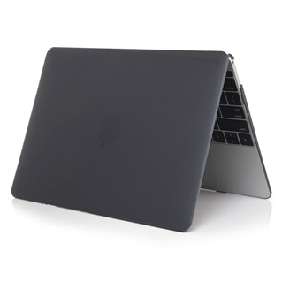 Macbook Air 11.6 inch - Laptoptas - Matte Hardcover - Zwart