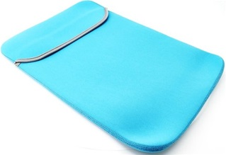Voor MacBook Pro 15.4 of MacBook Retina 15.4 inch  - Laptoptas - Laptop Sleeve - Turquoise