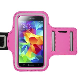 Universele Sport Armband maat XXL voor smartphones 5,5 inch o.a. Apple iPhone 6 Plus/6S Plus, Samsung Galaxy S6 (edge)/S7 (edge) Pink