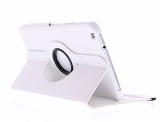 Witte 360° verstelbare tablethoes - Samsung Galaxy Tab 3 8.0